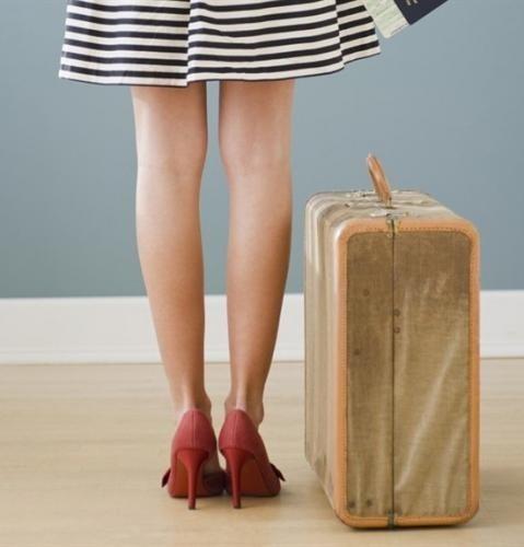 Risultati immagini per valigia e tacchi