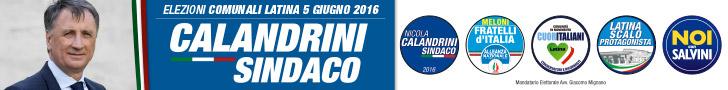 Calandrini Sindaco - Comune di Latina - elezioni del 5 giugno 2016