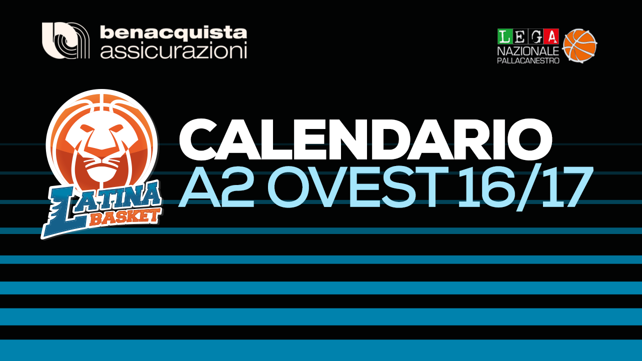 Calendario A2.Latina Basket Ecco Il Calendario Di A2
